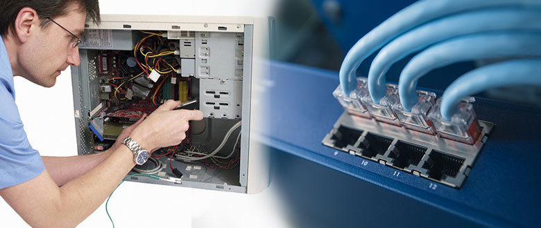 Glen Ellyn Illinois Onsite Computer PC & Printer Repairs, Network, Voice & Data Cabling Technicians