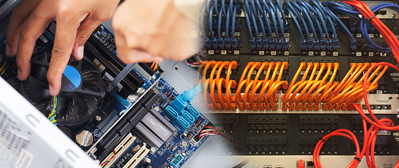 Skokie Illinois On Site Computer PC & Printer Repair, Network, Voice & Data Cabling Providers