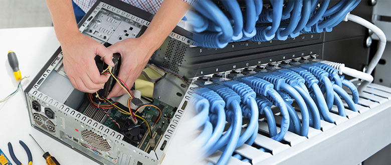 Lockport Illinois On Site PC & Printer Repair, Networks, Voice & Data Cabling Providers