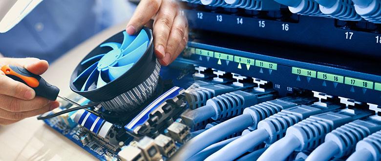 Vernon Hills Illinois On Site PC & Printer Repair, Networking, Voice & Data Cabling Contractors