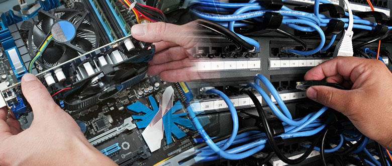 Peachtree City Georgia On Site PC & Printer Repairs, Networking, Voice & Data Cabling Contractors